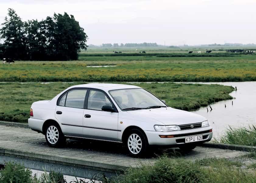 Toyota Corolla Geschichte Generation 7