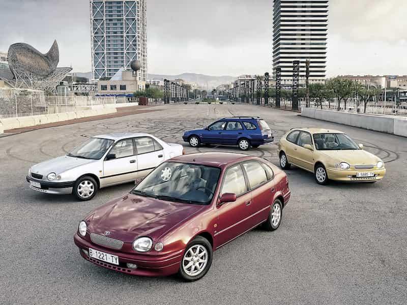 Toyota Corolla Geschichte Generation 8