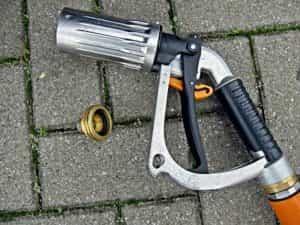 Autogas Zapfpistole mit Adapter
