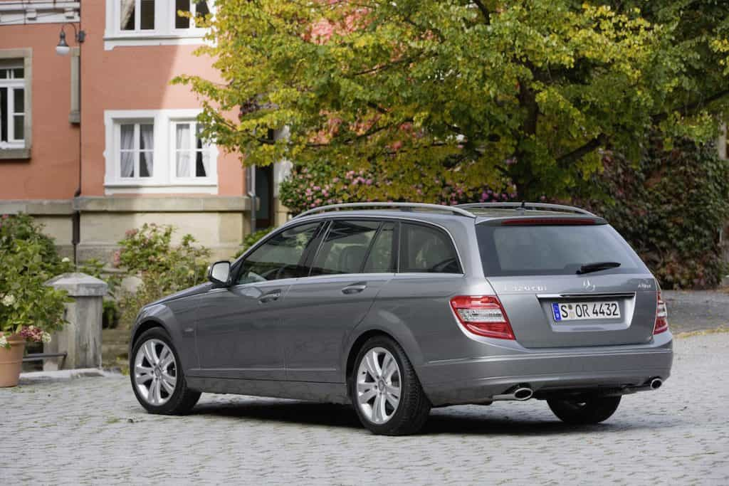 Mercedes-Benz C-Klasse T-Modell der Baureihe S 204, Typ C 320 CDI.