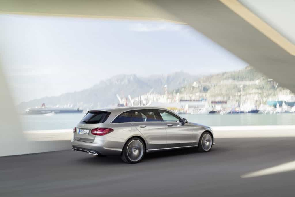 Mercedes-Benz C-Klasse T-Modell Exclusive, Exterieur: mojavesilber,