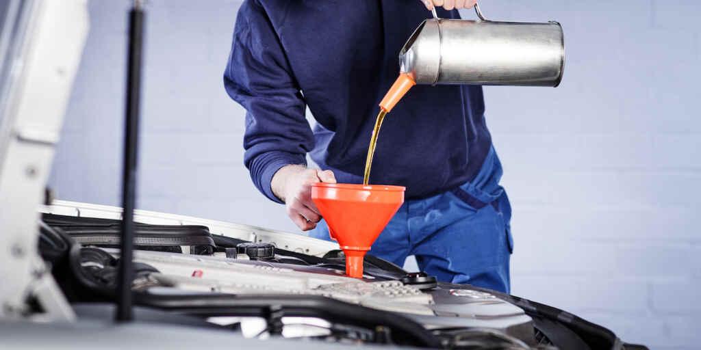 Der Motor braucht womöglich frisches Öl.